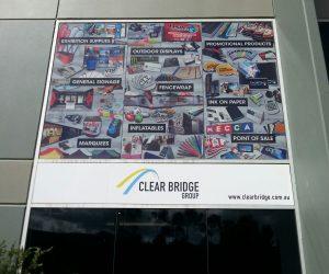 Clear Bridge Window graphics factory building - Copy