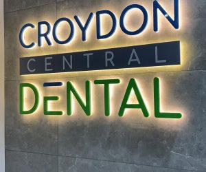 Croydon Central 3D halolit illuminated 3