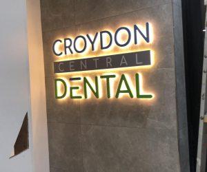 Croydon Central 3D halolit illuminated 5