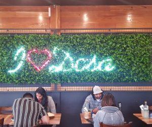 Dosa Hut LED neon I love Dosa 3