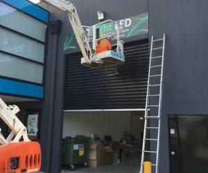 Eco light AFTER 3mm ACM _ digital print factory building signage - Copy