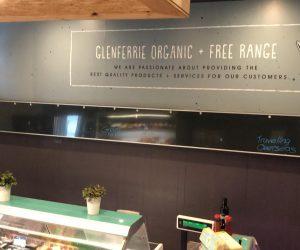 Glenferrie Organic _ Free Range digital print wall graphics retail