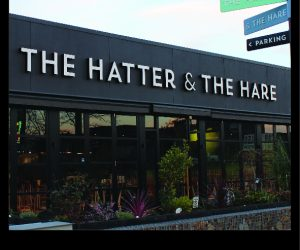 Hatter _ the Hare 3D Illuminated building signage - Copy