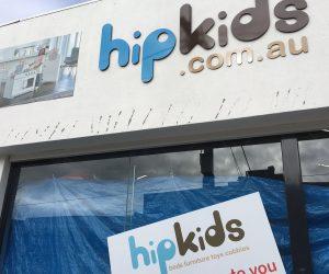Hip Kids building router cut 3mm acm contour cut vinyl digital print - Copy