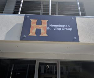 Homeington Building Group digital print building office