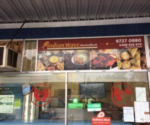 Indian Wave Mooroolbark window graphics building - Copy