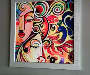 JPCO Digital print modern Indian art 3