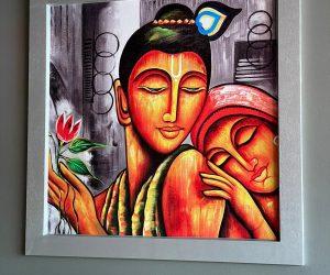 JPCO Digital print modern Indian art 4