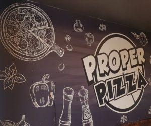 Proper Pizza digital print 2