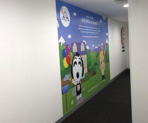 Shichida The Glen wall graphics 2