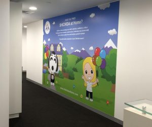 Shichida The Glen wall graphics