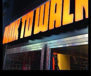 Wok to Walk 3D Illuminated building signage