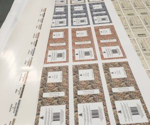 Wright Power digital print labels stickers
